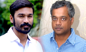 Gautham starts shooting his film with Dhanush