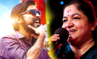 After Janaki, Chithra records her first song for a Dhanush film
