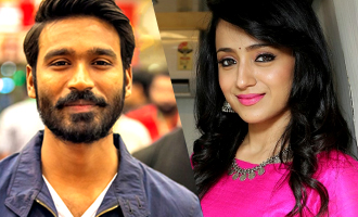 Trisha's First day with Dhanush