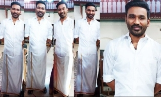 Dhanush's surprising mass look in his new Bollywood movie rages among fans