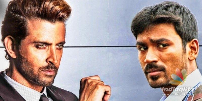 Massive! Dhanush and Hrithik Roshan teaming up?