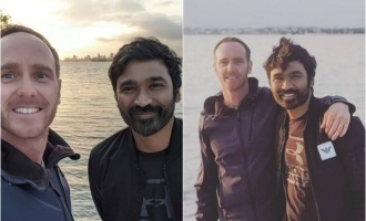Dhanush's first set of photos from 'The Gray Man' sets go viral