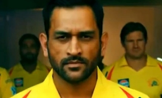 CSK release a video for Thala Dhoni goes viral