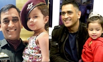 MS Dhoni's 5-year-old daughter gets rape threats after CSK loses to KKR