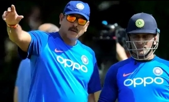 MS Dhoni may end odi career soon still t20 world cup contender says Ravi shastri