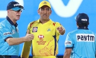 MS Dhoni fined for storming onto field in unbelievable scenes