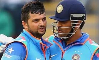 Dhoni and Suresh Raina announced their retirement