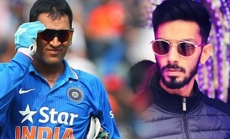 Anirudh's mass musical birthday wish to Thala Dhoni in Thalaivar style