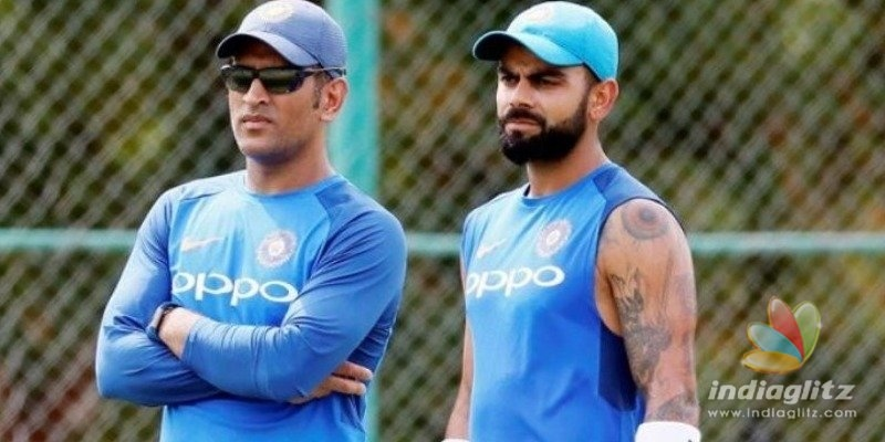 Virat Kohli hints M.S. Dhoni retirement today?