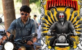 The high-octane first look of Dhruv Vikram from 'Mahaan' is out! – Character revealed