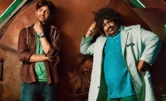 Yogi Babu joins in the fun with Santhanam in 'Dikkiloona' 3rd look