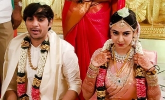 Pan Indian action movie director gets married!