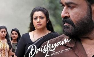 நாளை முதல் திரையரங்குகளில் 'த்ரிஷ்யம் 2': மோகன்லால் அறிவிப்பால் குஷியில் ரசிகர்கள்!