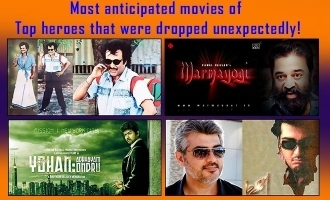 Most anticipated movies of Top heroes that were dropped unexpectedly!