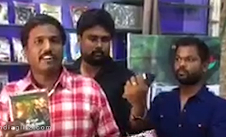 Ivan Thanthiran, AAA pirated DVDs seized in Adyar