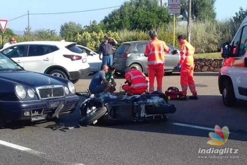 George Clooney injured in an accident