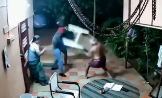 WATCH: Brave elderly couple beat and chase away robbers in TN