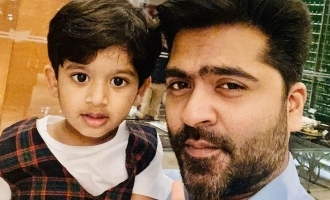 Simbu's cute video with his nephew turns viral!
