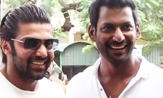 """Arya – Vishal duo's """"Enemy"""" teaser to be dropped on this date!"""