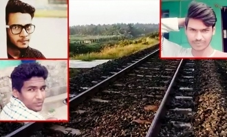 Tamil Nadu: Drunk Engineering students sitting on tracks run over by train