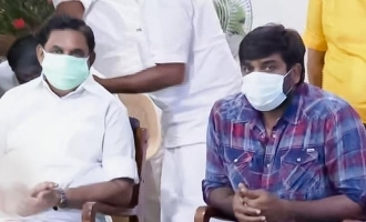 தமிழக முதல்வருடன் விஜய்சேதுபதி திடீர் சந்திப்பு