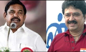 TN CM Palanisamy said that SV Sekhar will run away and hide if the case comes up