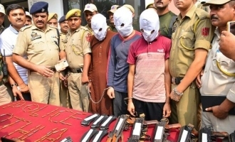 Three JeM terrorists arrested in India, weapons seized