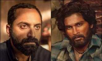 Fahadh Faasil's most dangerous evil look in 'Pushpa' released as birthday treat