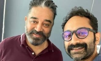"""Velu Nayakkar meets Ali Ikka"" - Fans go crazy over the shooting spot image of ""Vikram"""