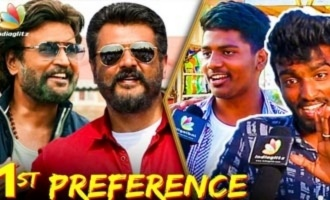 Which is your 1st Preference, Viswasam or Petta ? | Rajini and Ajith Fans Opinion