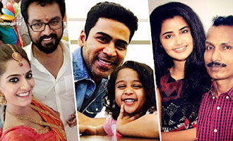 Father's Day Spl: Tamil Actors with their daddies