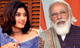 Actor Oviyaas latest tweet about PM Modi lands her in the soup
