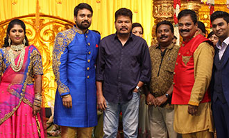 Fefsi Vijayan Master son's wedding reception
