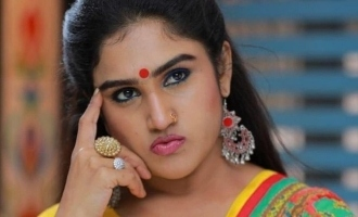 Chennai porur police registered a new case against actress vanitha