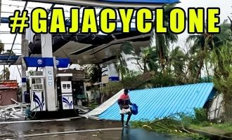 Aftermaths of cyclone Gaja