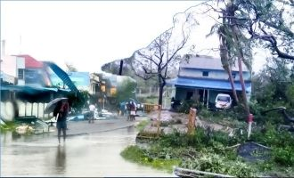 Aftermaths of cyclone Gaja - Gallery