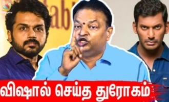Truth behind my Vishal-Karthi movie drop - Ishari Ganesh untold stories about Nadigar Sangam