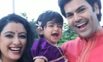 Ganesh Venkatraman shares cute video of his little daughter's first beach experience