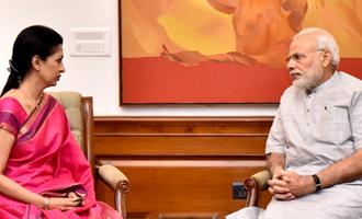 பிரதமர் மோடியுடன் நடிகை கவுதமி திடீர் சந்திப்பு