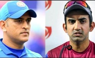 Gautam Gambhir opens up on Dhoni's retirement