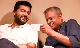 சிம்பு - கெளதம் மேனன் படத்தில் இணையும் '2.0' பிரபலம்!