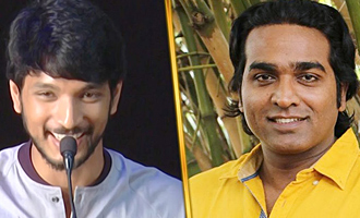 I want to be like Vijay Sethupathi : Gautham Karthik Speech