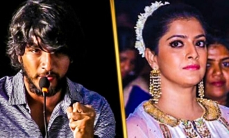 Varalakshmi plays a crucial role in Chandramouli Movie: Gautham Karthick and Dhanenjeyan Speech
