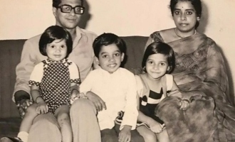 Gautham Menon childhood photo viral in internet
