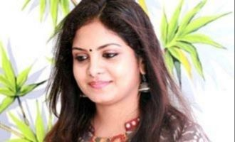 Actress Gayathri's reaction to man who offered money for sex