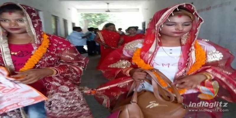Two sisters get married to each other