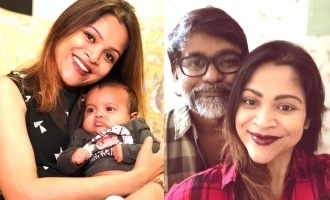Selvaraghavan shares an adorable photo of his Yamini and little prince!