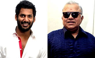 Vishal's father in Radharavi's role