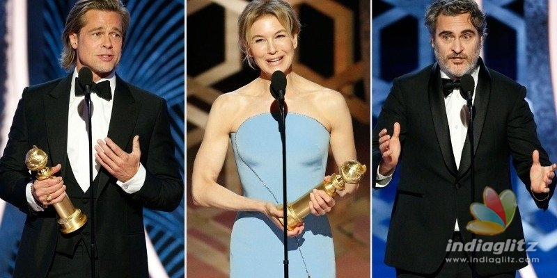 The prestigious Golden Globe Awards 2020 winners list is here