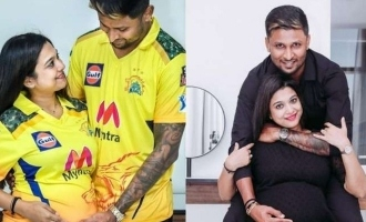 CSK player expecting first child with his wife; Shares pictures